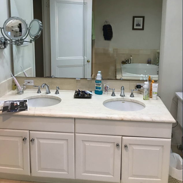 Upper Brookville master bathroom