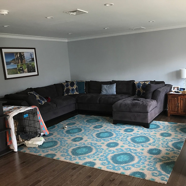 Locust Valley family room