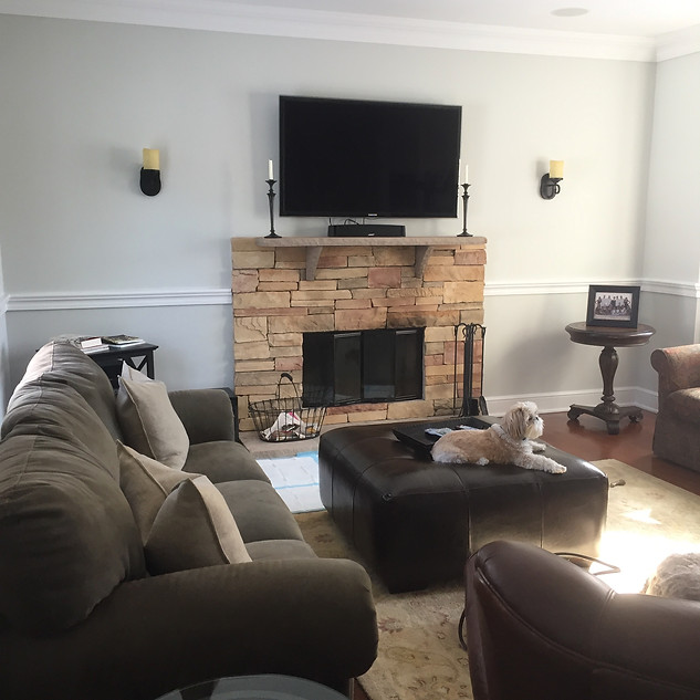 Syosset family room