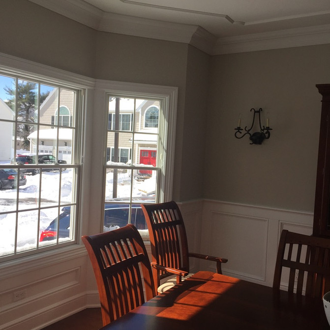 Syosset dining room