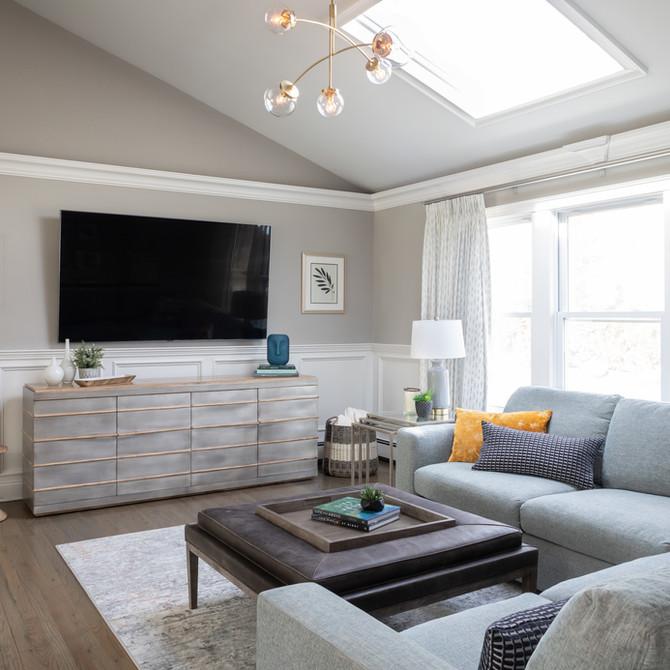 Fort Salonga living room