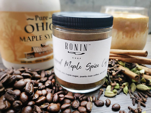 Ronin Chef Whipped Maple Spice Coffee
