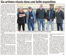La provence - Article expo St Martin de Crau