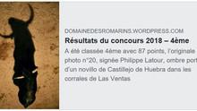 Concours 2018 Domaine des Romarins