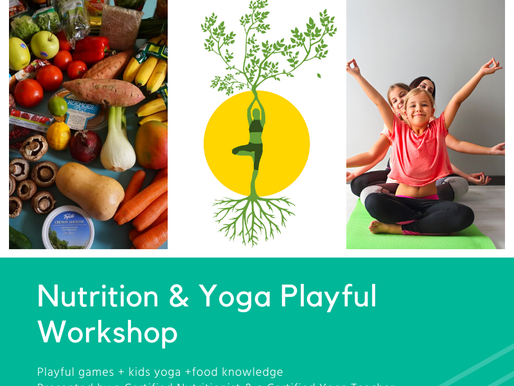 Yoga and Nutrition Playful Workshop for Families