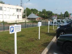 Panneaux de stationnement - Audition Conseil - Nevers
