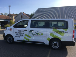 Marquage véhicule Mobigo