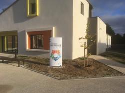 Totem enseigne - Maison médicale de Coulanges-lès-Nevers