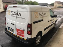 Communication sur véhicule - Clinique Elsan