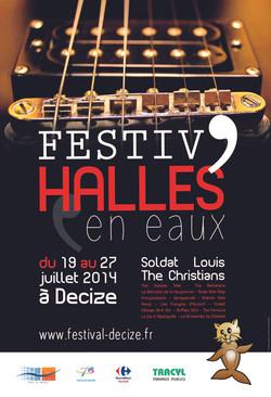 Affiche pour un festival musical