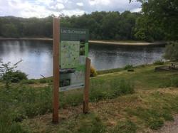 Panneau d'informations - Lac du Crescent
