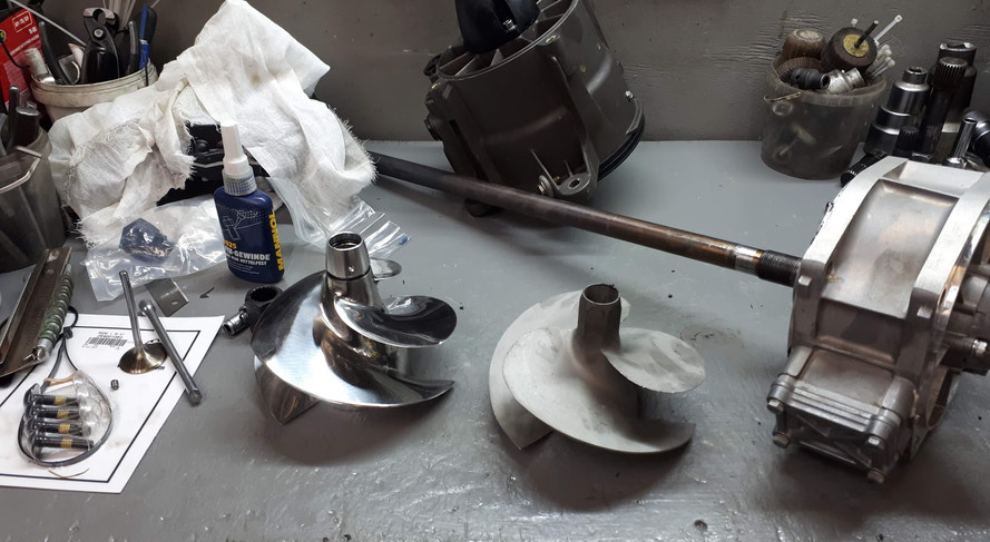Замена импеллера на GP1800