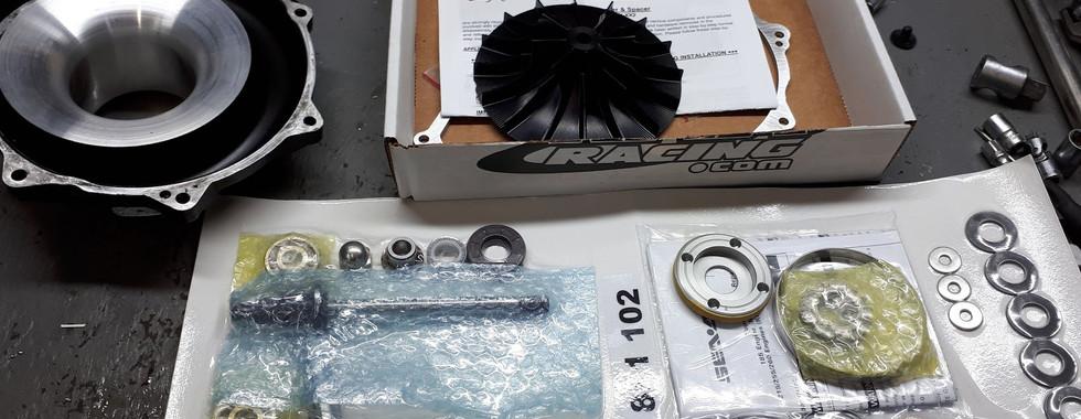 тюнинг крыло и новый ремкомплект компрессора