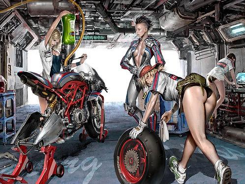 Техническое обслуживание гидроцикла Spark
