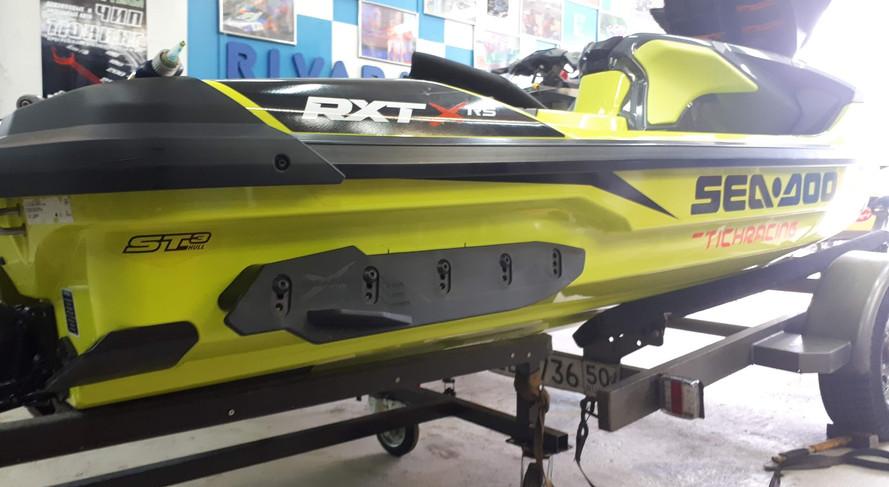 замена спонсонов RXT 300