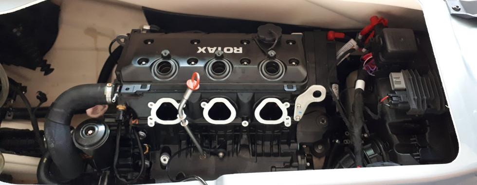 установка двигателя rotax