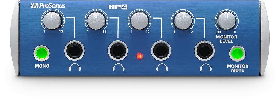 PRESONUS HP4 AMPLIFICADOR DE AUDIFONOS