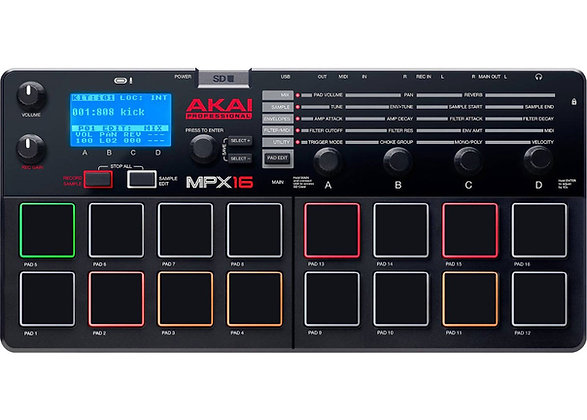AKAI MPX16 - CONTROLADOR MIDI