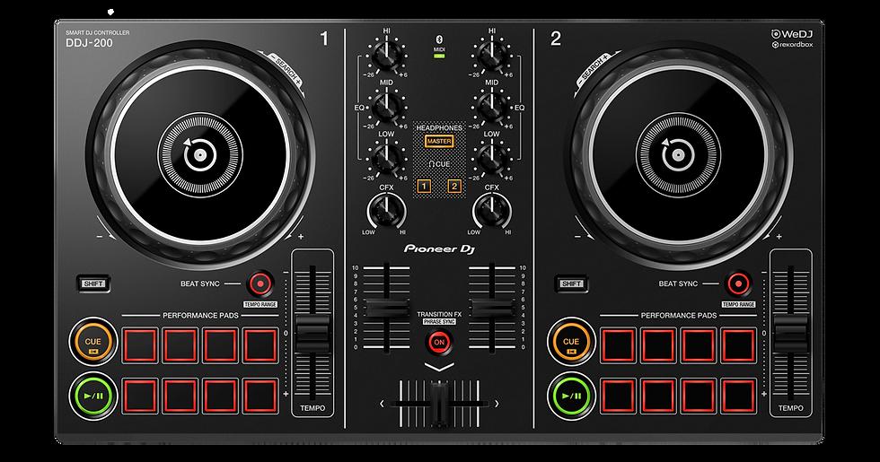PIONEER DDJ-200 - CONTROLADOR DJ