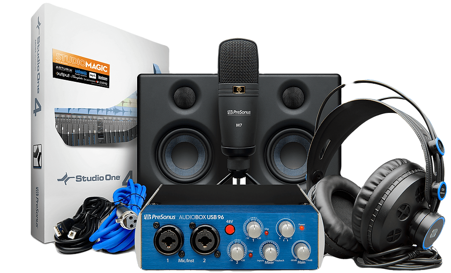PRESONUS AUDIOBOX STUDIO ULTIMATE BUNDLE - COMBO DE ESTUDIO COMPLETO
