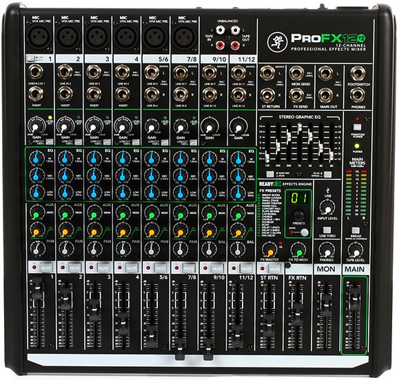 MACKIE PRO-FX12V2  - MIXER