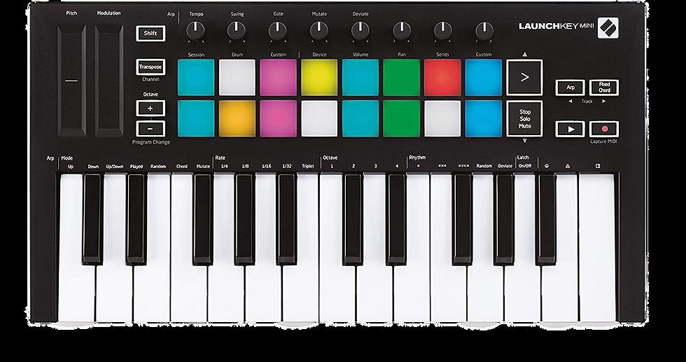 NOVATION LAUNCHKEY MINI MK3 - CONTROLADOR MIDI