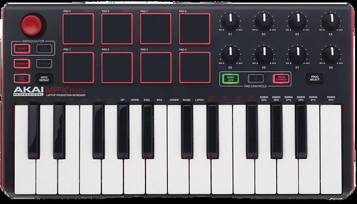 AKAI MPK MINI MK II  - CONTROLADOR MIDI