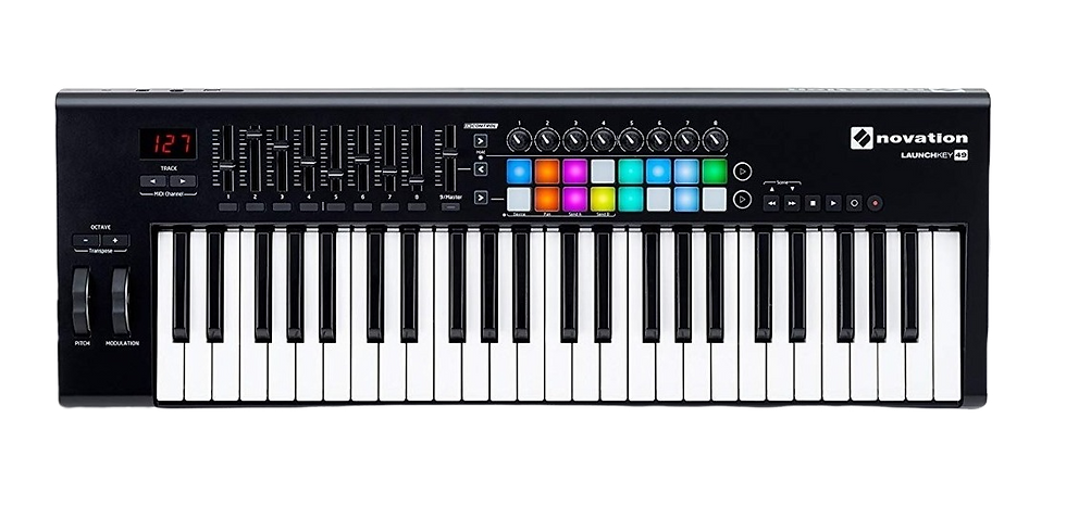 NOVATION LAUNCHKEY 49 MK2 - CONTROLADOR MIDI