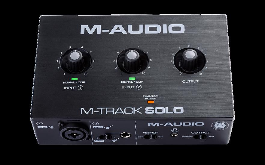 M-AUDIO M-TRACK SOLO II - INTERFAZ DE AUDIO