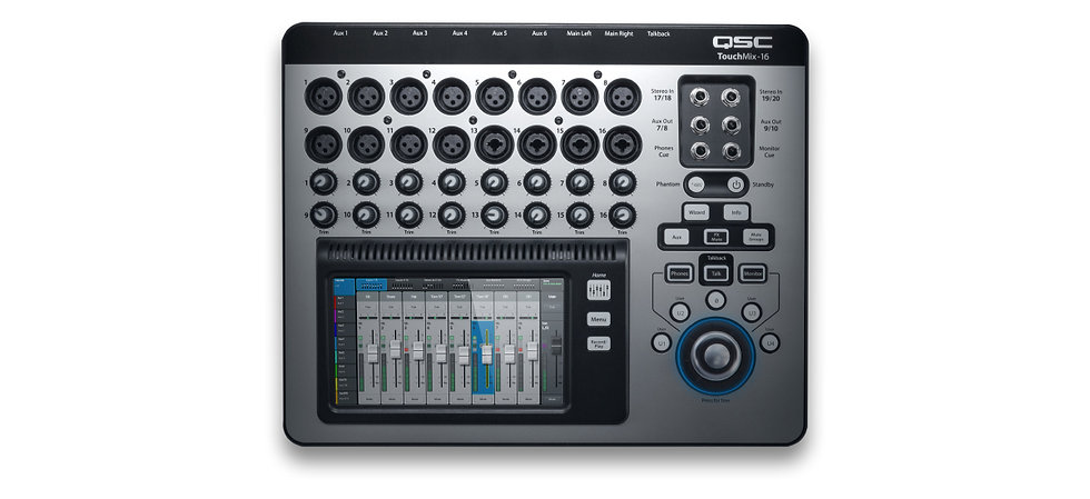 QSC TOUCHMIX-16 - CONSOLA DIGITAL