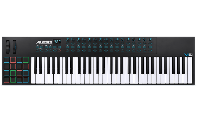 ALESIS VI61 - CONTROLADOR MIDI