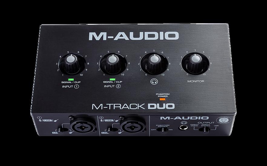 M-AUDIO M-TRACK DUO - INTERFAZ DE AUDIO