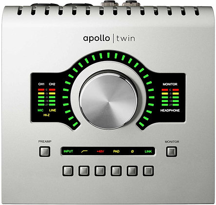 UNIVERSAL AUDIO APOLLO TWIN MKII DUO USB - INTERFAZ DE AUDIO