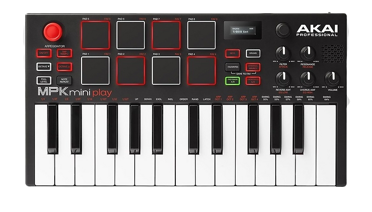 AKAI MPK MINI PLAY - CONTROLADOR MIDI