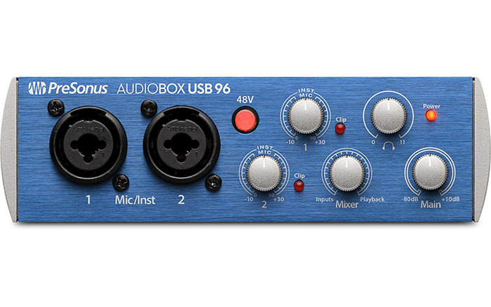 PRESONUS AUDIOBOX USB 96 - INTERFAZ DE AUDIO