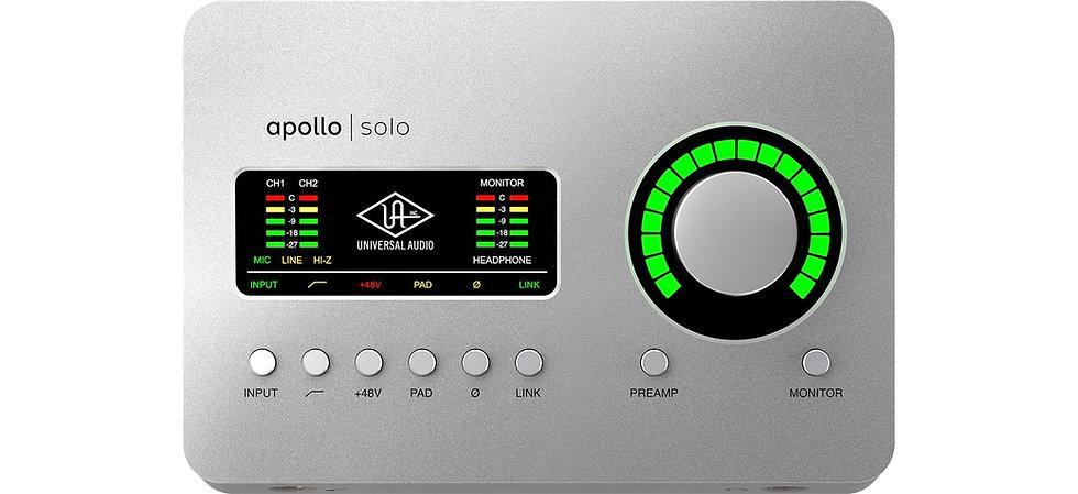 UNIVERSAL AUDIO APOLLO SOLO THUNDERBOLT - INTERFAZ DE AUDIO