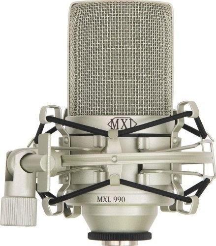 MXL 990 - MICROFONO DE CONDENSADOR