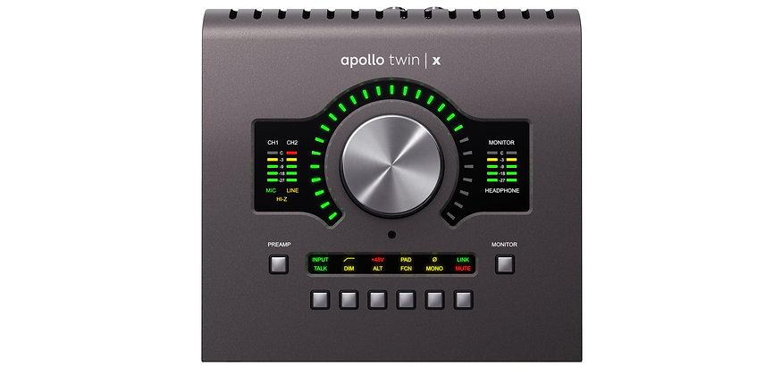 UNIVERSAL AUDIO APOLLO TWIN X QUAD HERITAGE EDITION - INTERFAZ DE AUDIO