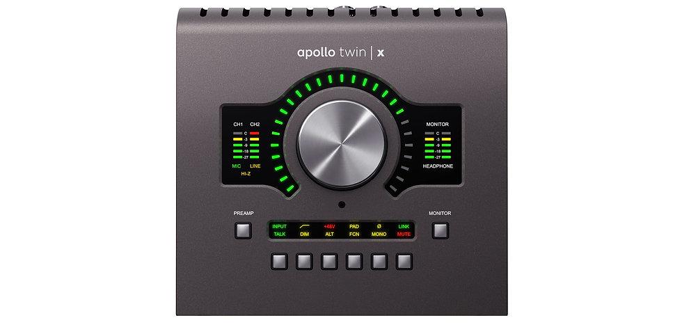 UNIVERSAL AUDIO APOLLO TWIN X DUO HERITAGE EDITION - INTERFAZ DE AUDIO