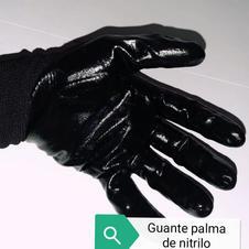 Guante palma de nitrilo