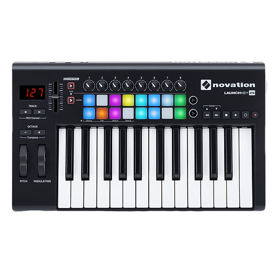 NOVATION LAUNCHKEY 25 MK2 - CONTROLADOR MIDI