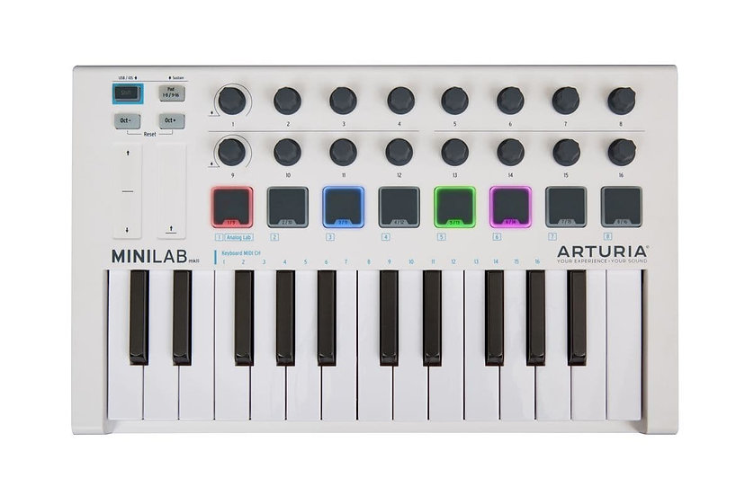 ARTURIA MINILAB MK II - CONTROLADOR MIDI