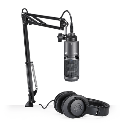 AUDIO-TECHNICA AT2020USB+ - PACK - PAQUETE DE STREAMING