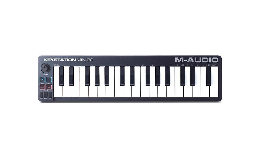 M-AUDIO KEYSTATION MINI 32 - CONTROLADOR MIDI