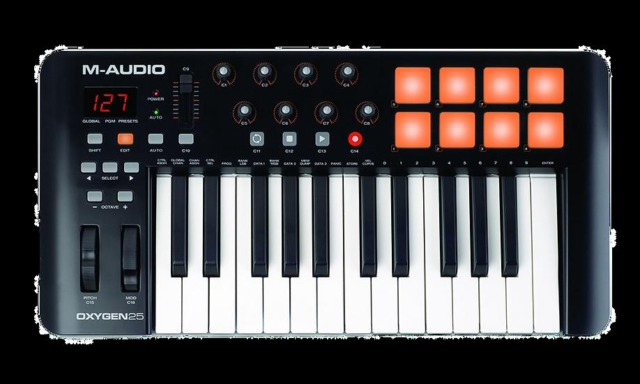 M-AUDIO OXYGEN 25 IV - CONTROLADOR MIDI