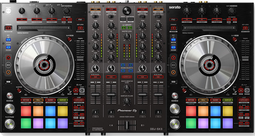PIONEER DDJ-SX3 - CONTROLADOR DJ