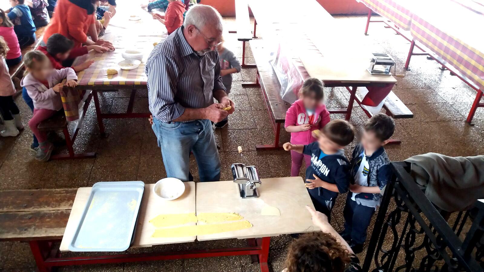 laboratorio fettuccine a Casa Masca
