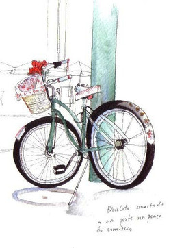 Vintage bycicle - by Sofia Malato