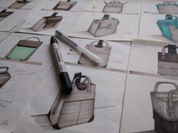 Sketches of bags - by Sofia Malato