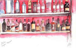 Bootles in a bar by Sofia Malato